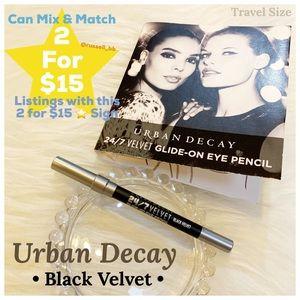 Urban Decay 24/7 Black Velvet Glide On Eye Pencil